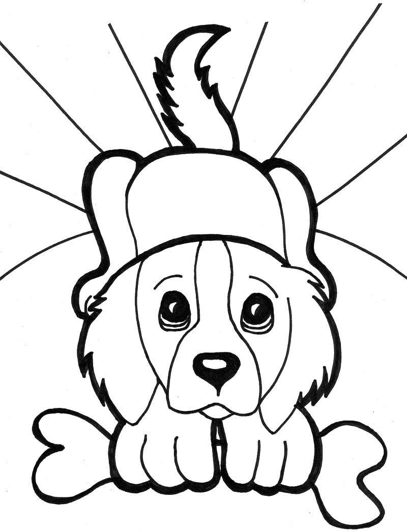 800x1046 Golden Retriever Puppy Coloring Pages Print New Cute