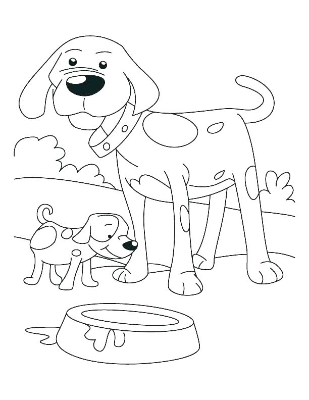 612x792 Golden Retriever Puppy Coloring Pages Puppies Coloring Pages
