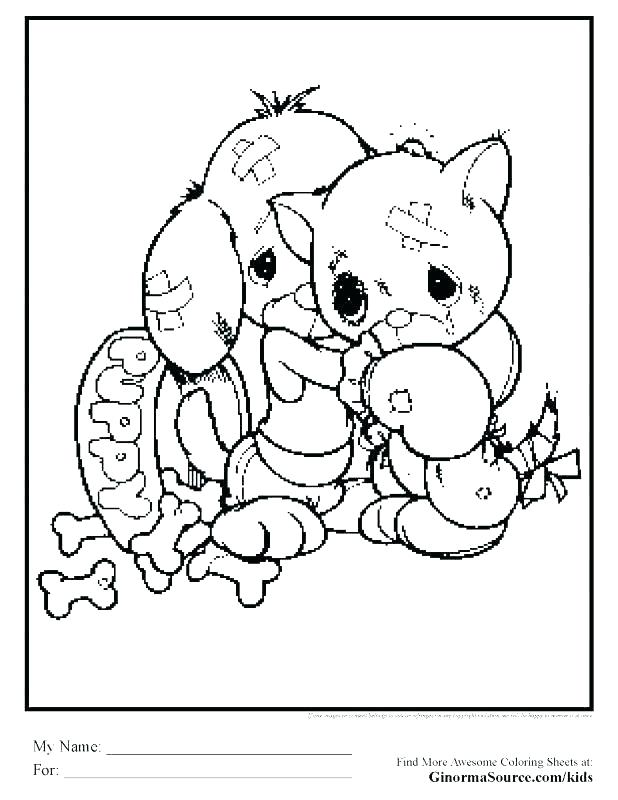 618x800 Golden Retriever Coloring Pages Click To See Printable Version