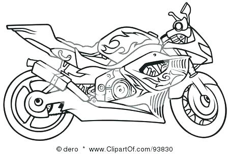 450x304 Motorcycle Coloring Pages For Kids Biker Printable Motorcycle