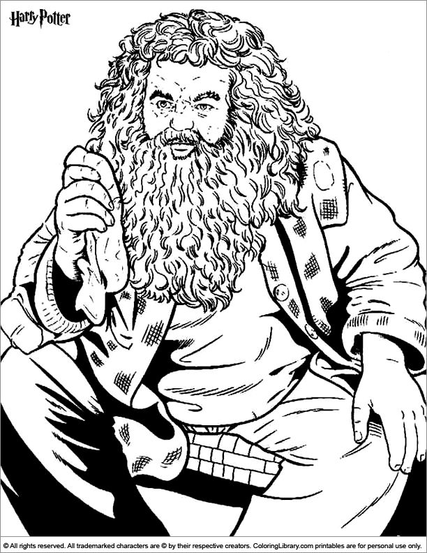 Coloring Pages Of Harry Potter Characters