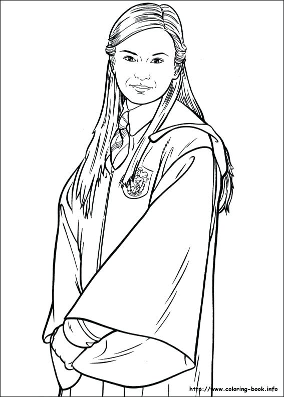 567x794 Coloring Pages Of Harry Potter Harry Potter Coloring Pages Harry