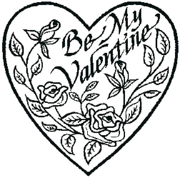 576x569 Coloring Pages Hearts And Flowers Bleeding Heart Flower Coloring