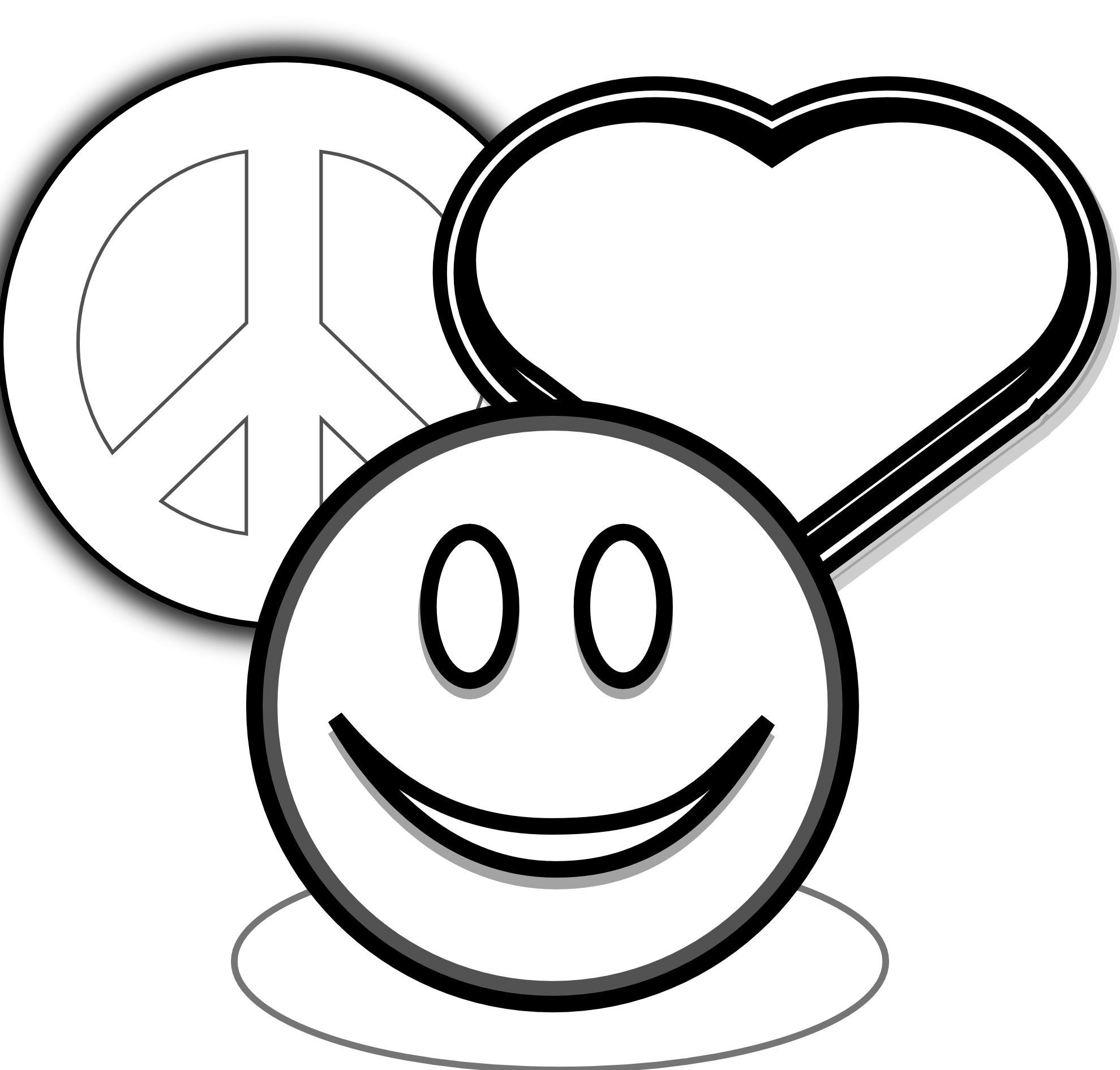 1979x1891 Coloring Pages Of Peace Signs Hearts Clip Art Peace Love