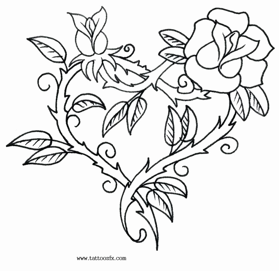 900x872 Coloring Pages Of Stars And Hearts Photos Hearts And Flowers