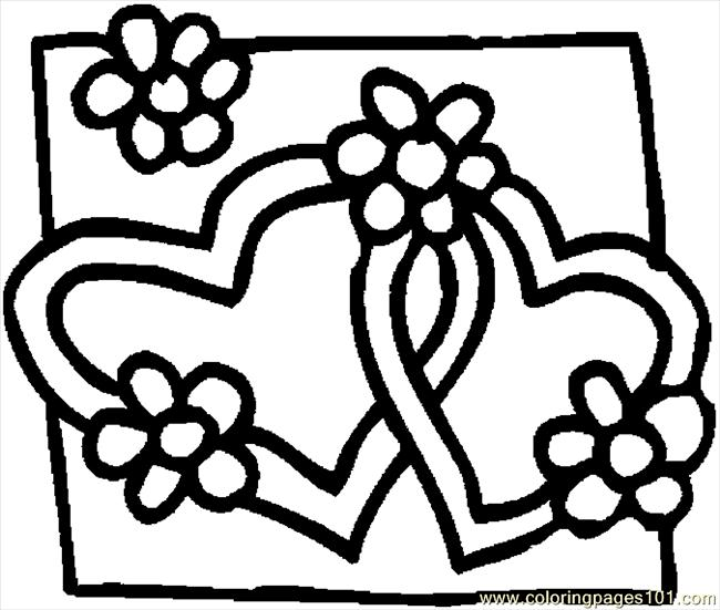 650x551 Coloring Pages Of Hearts And Peace Signs
