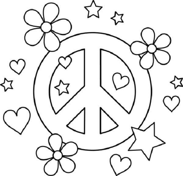 600x577 Best A Craft Peace Sign Color Tam Images