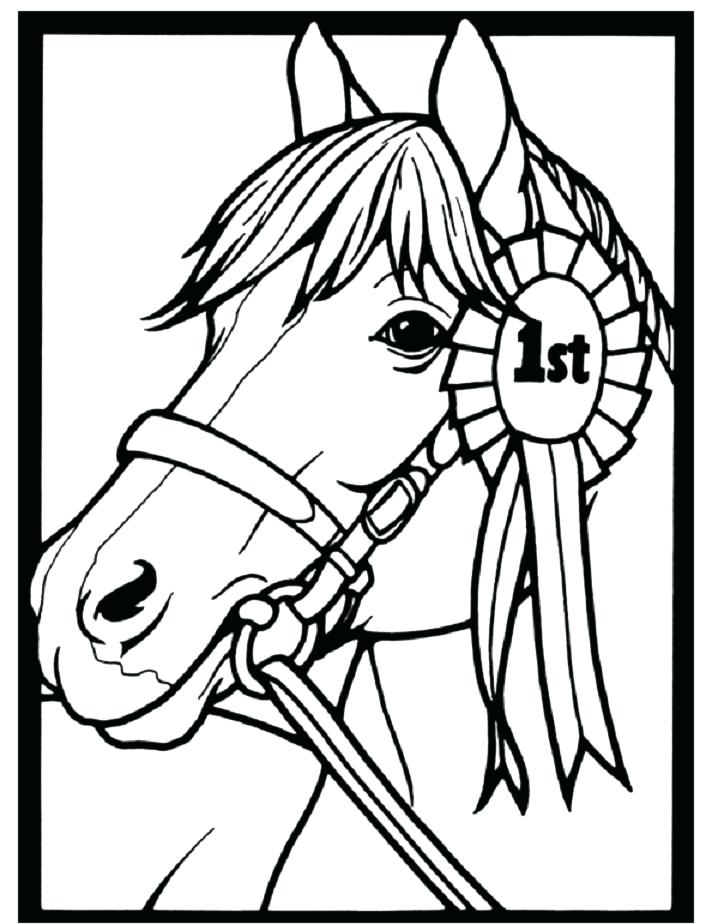 Coloring Pages Of Horses And Ponies At Getdrawings Com Free For