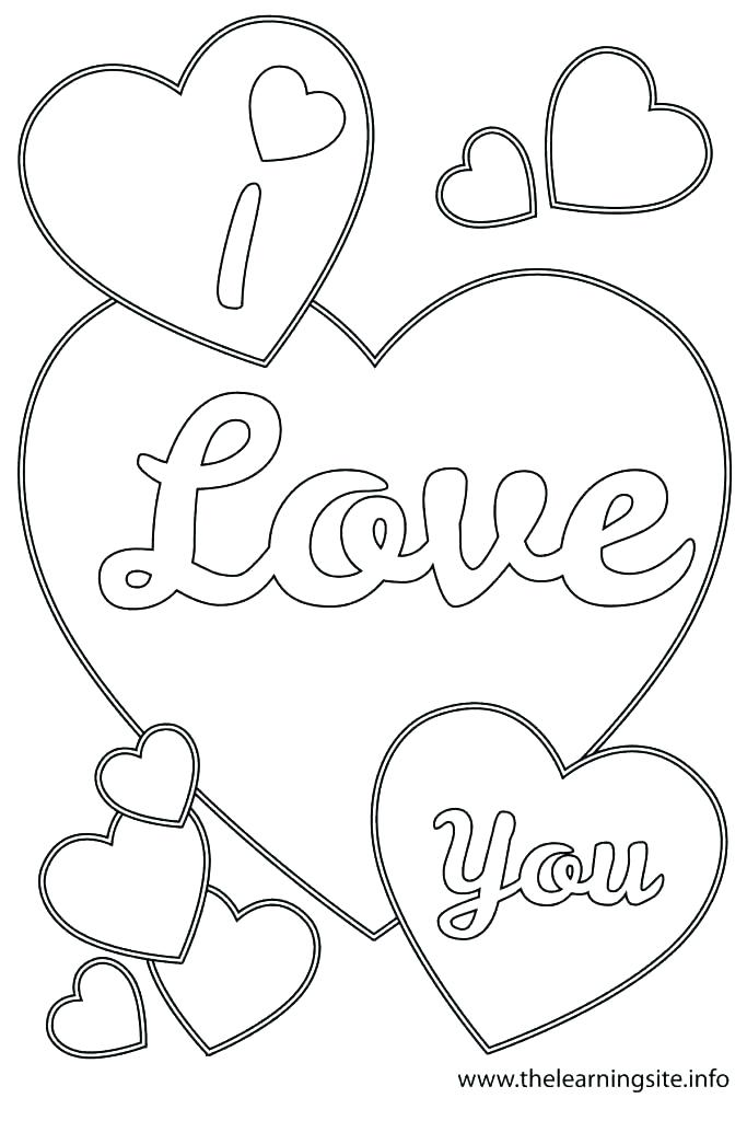 683x1024 I Love You Coloring Pages Coloring Pages Love I Love You Coloring