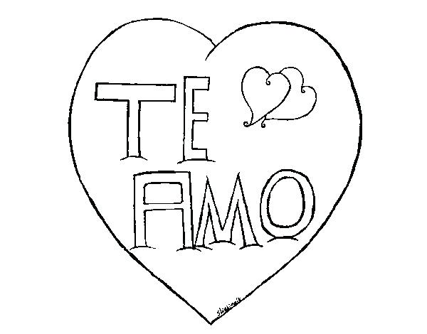 600x470 Love Coloring Pages Love Coloring Pages Coloring Pages Of I Love