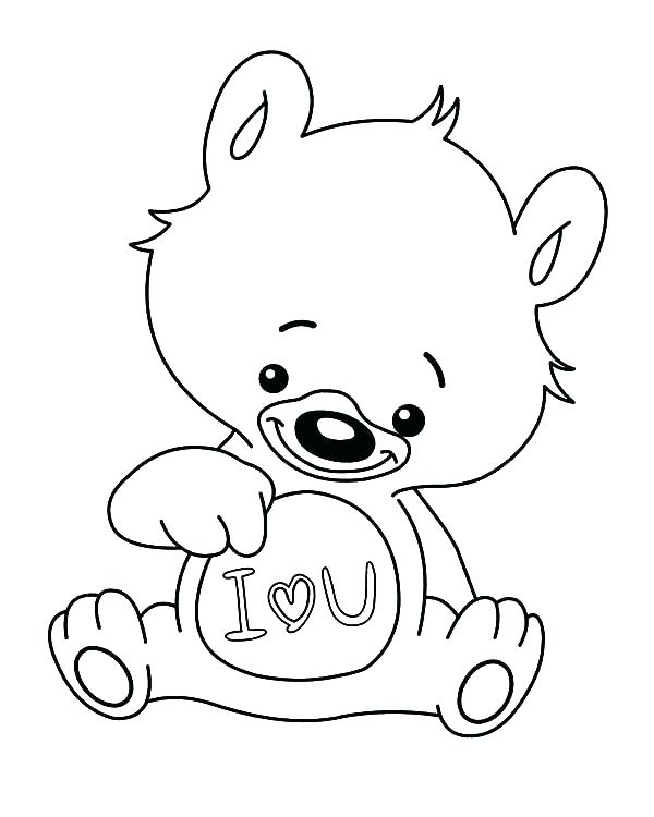 600x750 Coloring Pages Of I Love You I Love You Coloring Pages I Love You