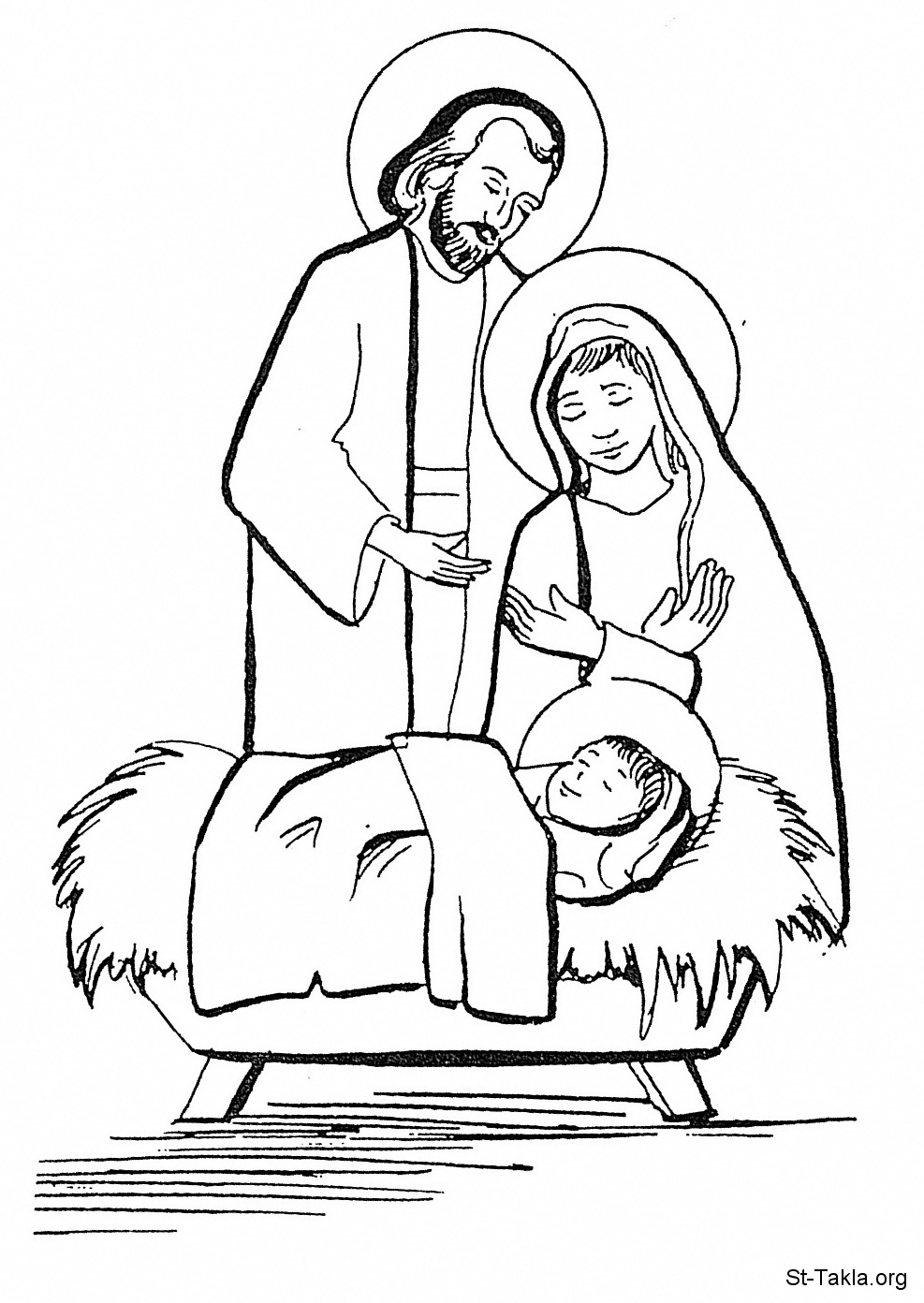 987x1392 Nativity Colouring Pages New Calendar Template Site, Baby Jesus