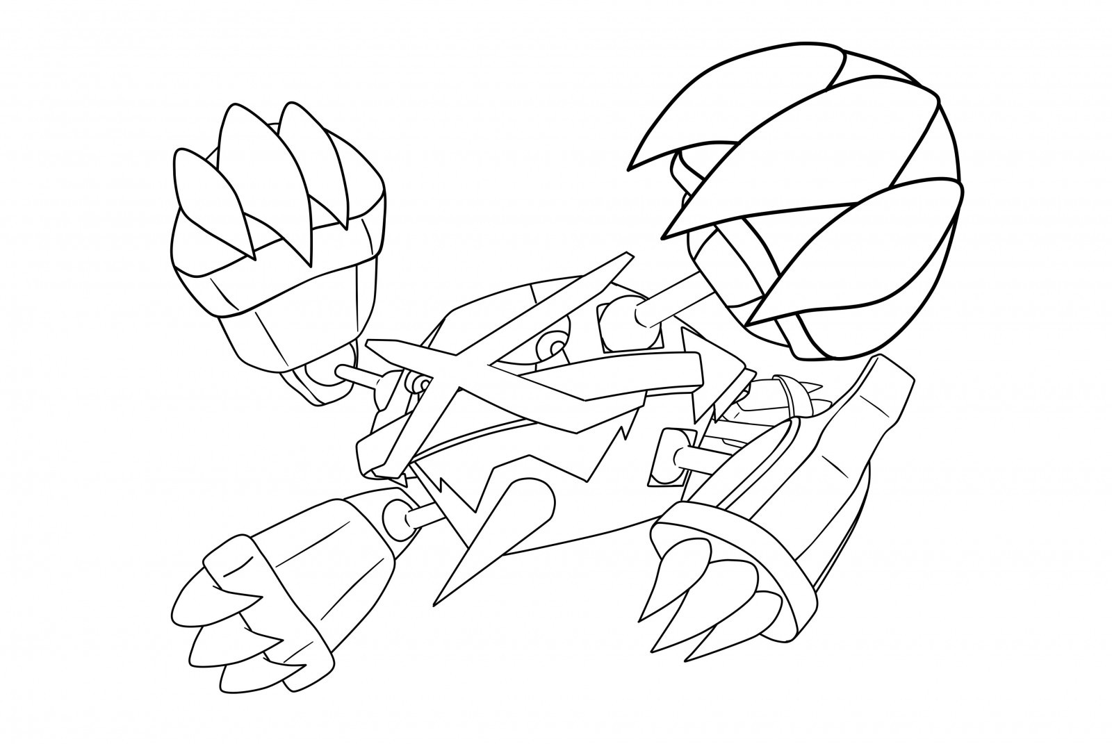 Coloring Pages Of Legendary Pokemon at GetDrawings | Free ...