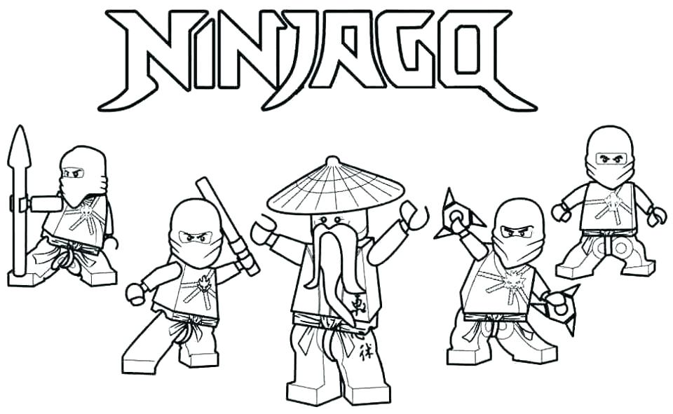 960x591 Ninjago Coloring Pages Kai Coloring Pages Coloring Pages Free
