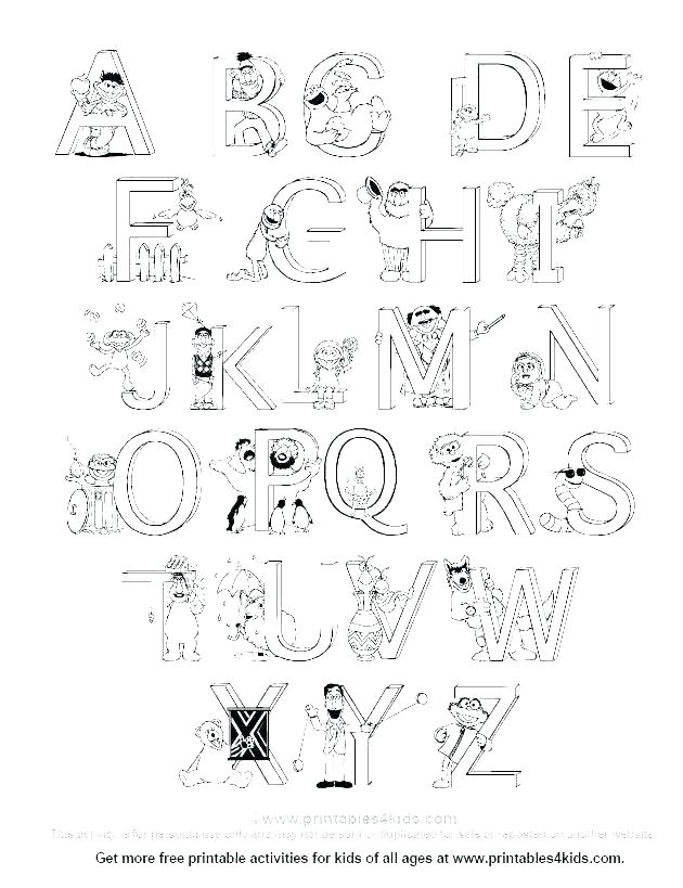 Coloring Pages Of Letter T