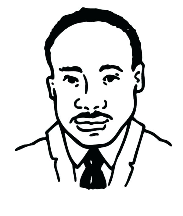 600x708 Coloring Pages For Martin King Jr Martin King Martin King Coloring