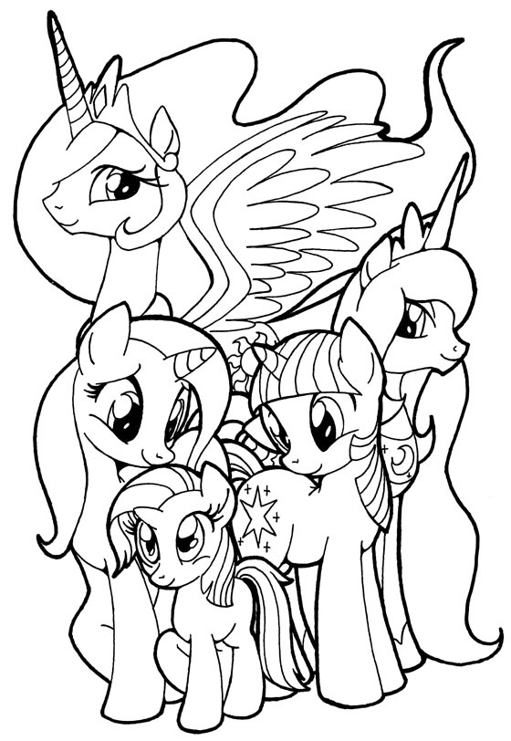 560x812 Mlp Fim Coloring Pages New Best Broderies Images