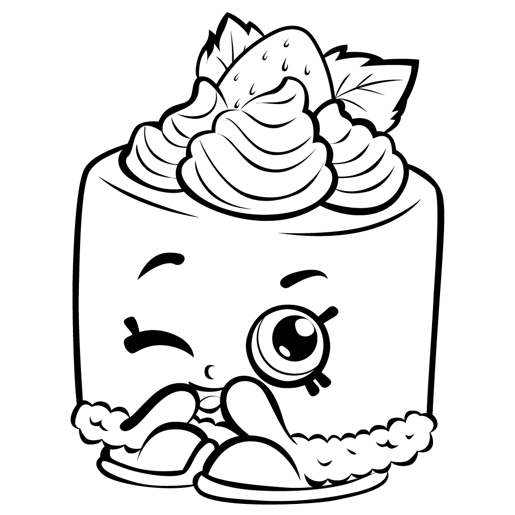 1024x1024 Shopkins Nailpolish Picture Coloring Page Printable