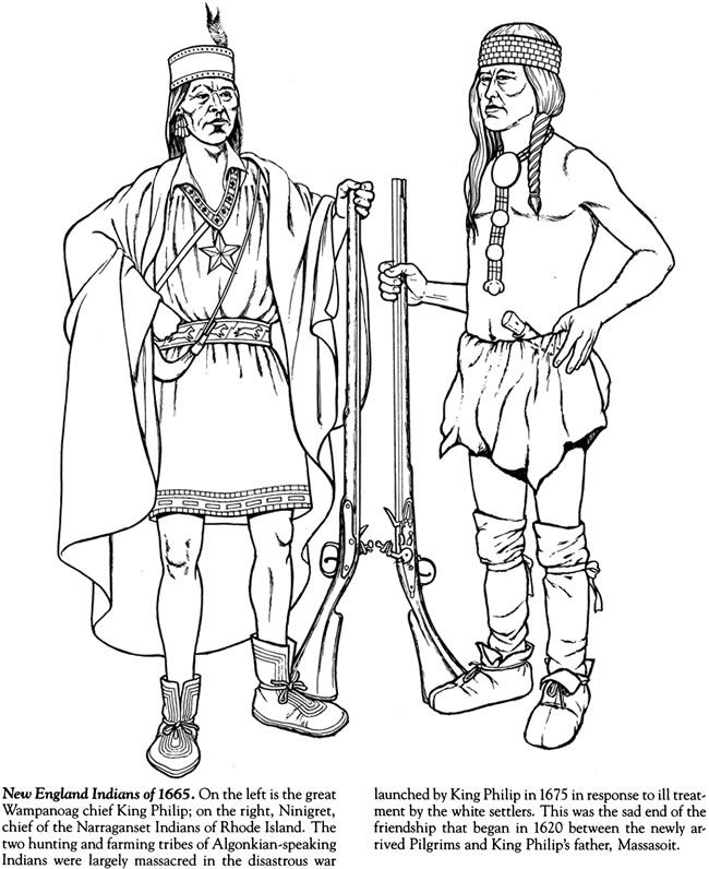 650x796 Indian Tribes Of North America Coloring Book Dover Publications