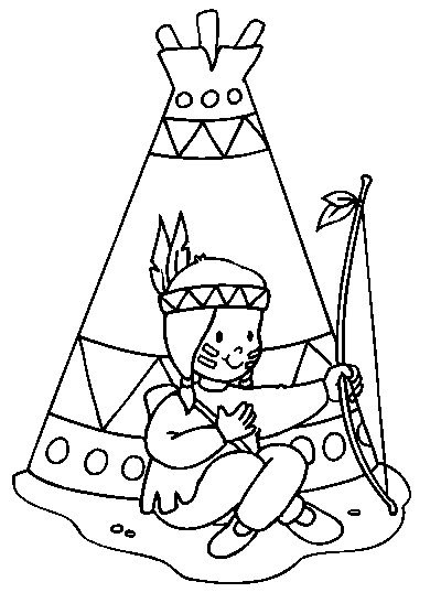 33 Native American Coloring Book - Free Printable Coloring Pages