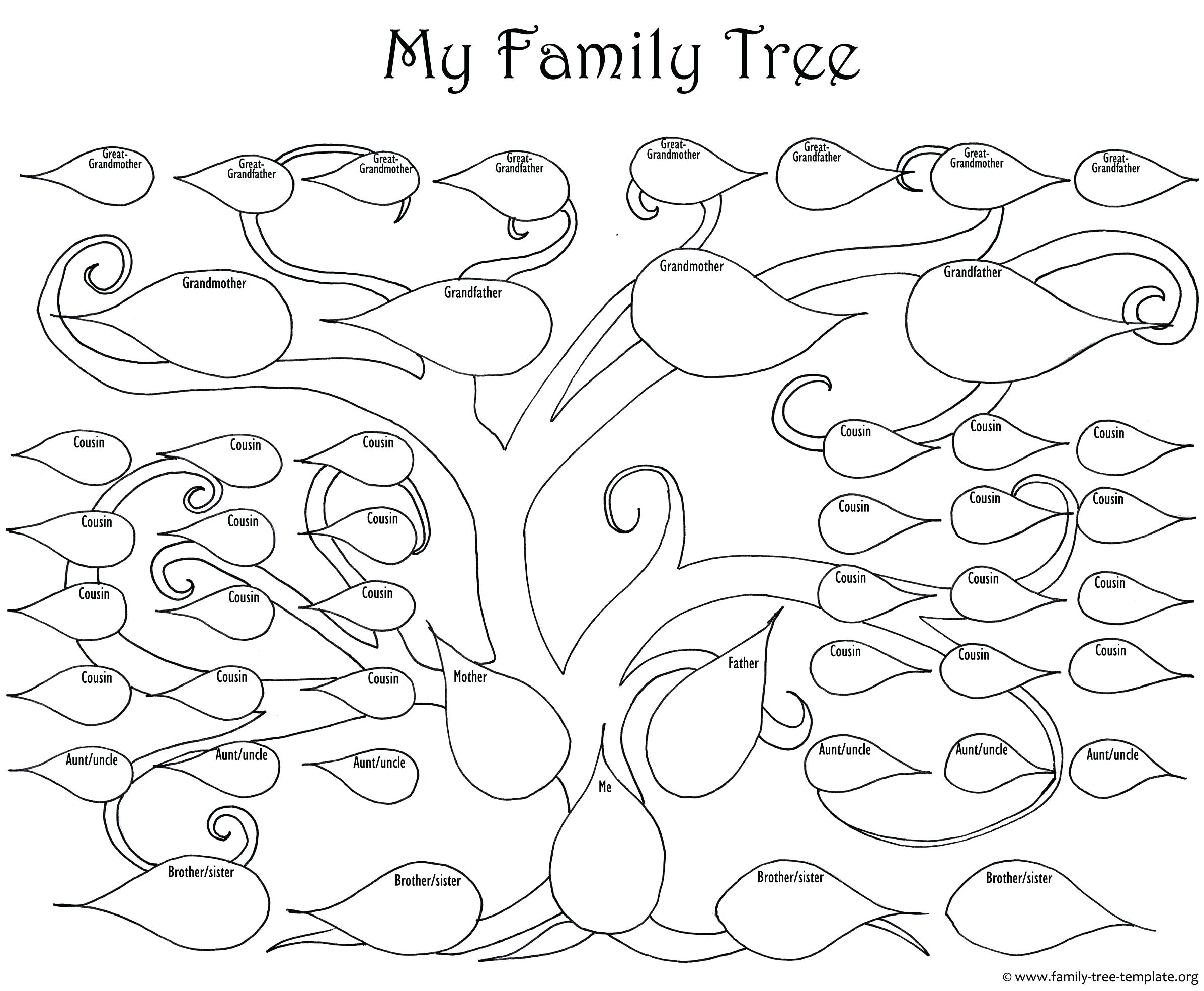 2393x1969 Ohio State Bird And Flower Coloring Pages Printable Tree Template