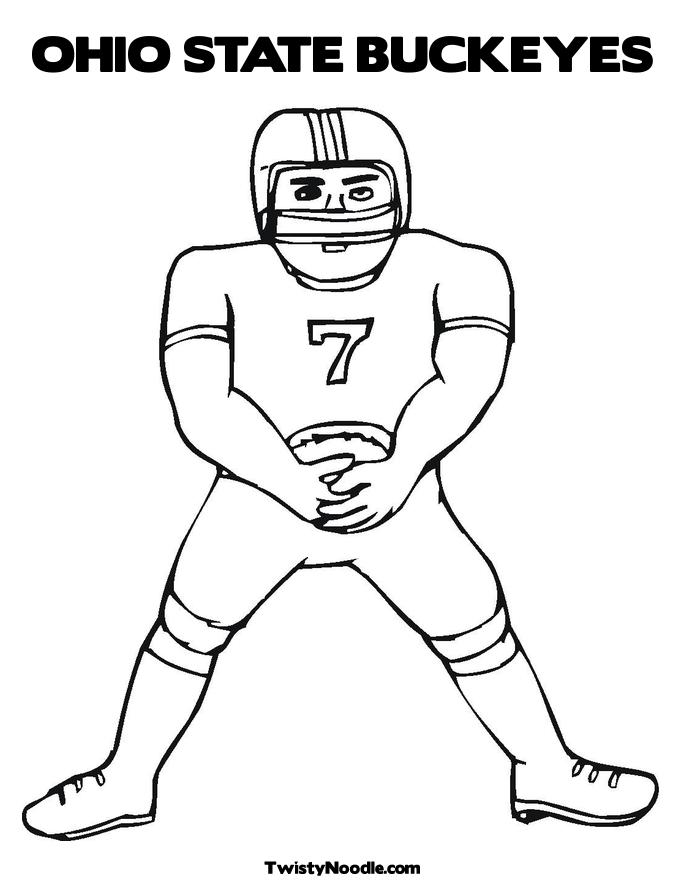 685x886 Ohio State Coloring Pages Many Interesting Cliparts