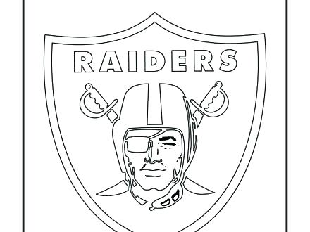 440x330 Ohio State Football Printable Coloring Pages Raiders Logos Helm