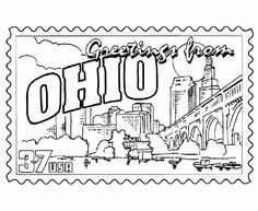236x193 Usa Printables State Of Michigan Coloring Pages