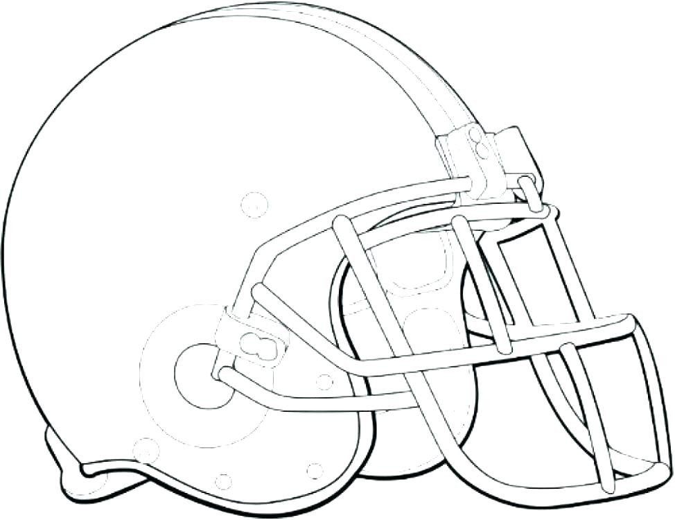 974x750 Football Printable Coloring Pages Helmets Coloring Pages Football