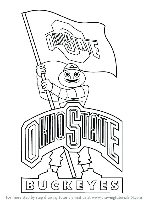 598x844 Ohio Coloring Pages Ohio State University Coloring Pages