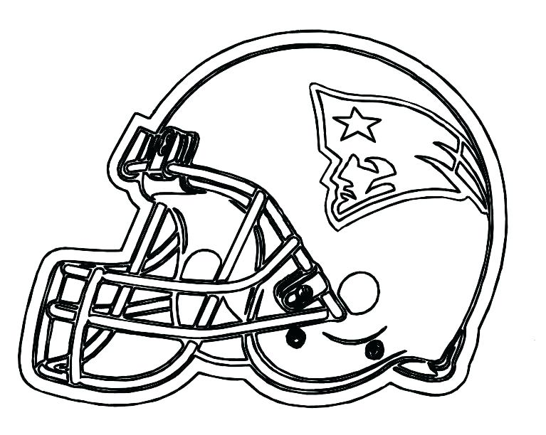 767x612 Football Helmet Coloring Pages Patriots Coloring Pages Football