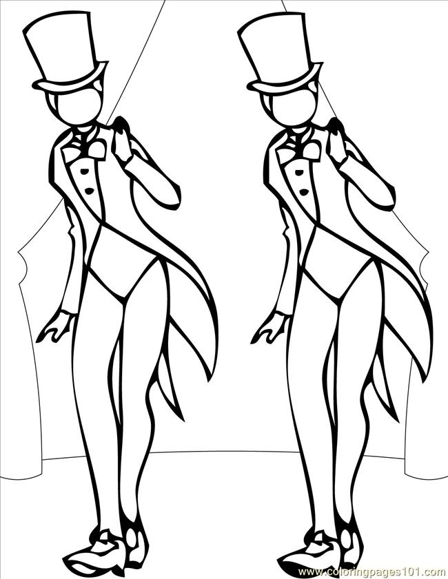650x841 Tap Ink Coloring Page