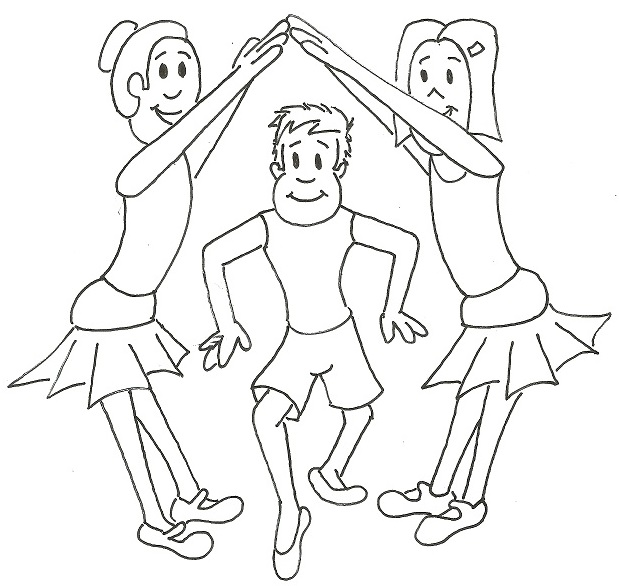 619x586 Coloring Books For Dance, Ballet Coloring Books, Tap Coloring Books