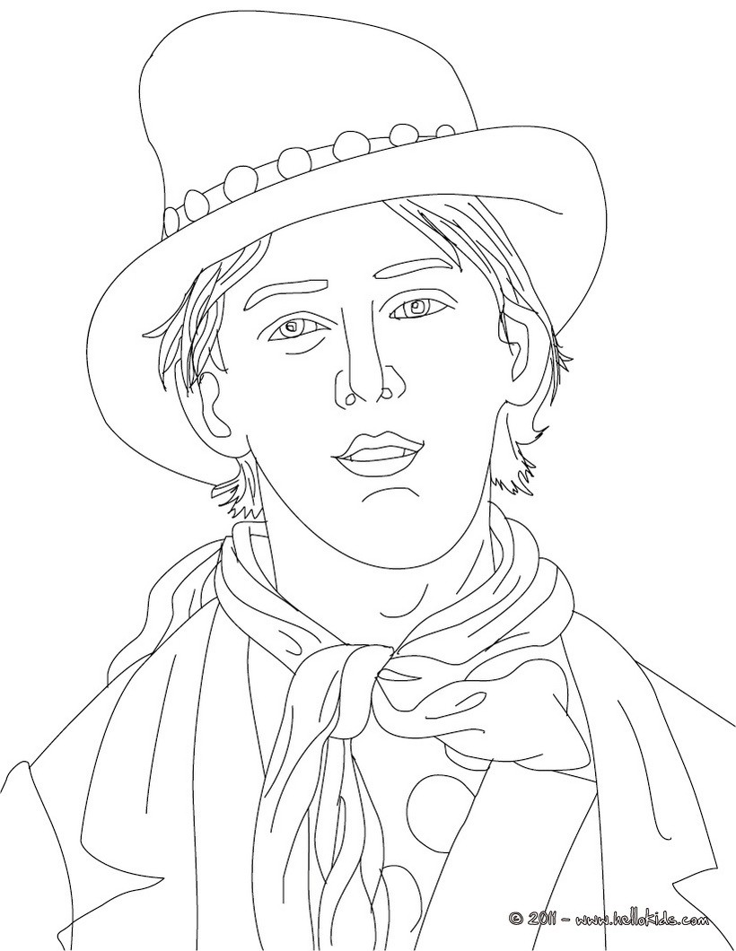 820x1060 Billy The Kid Coloring Pages