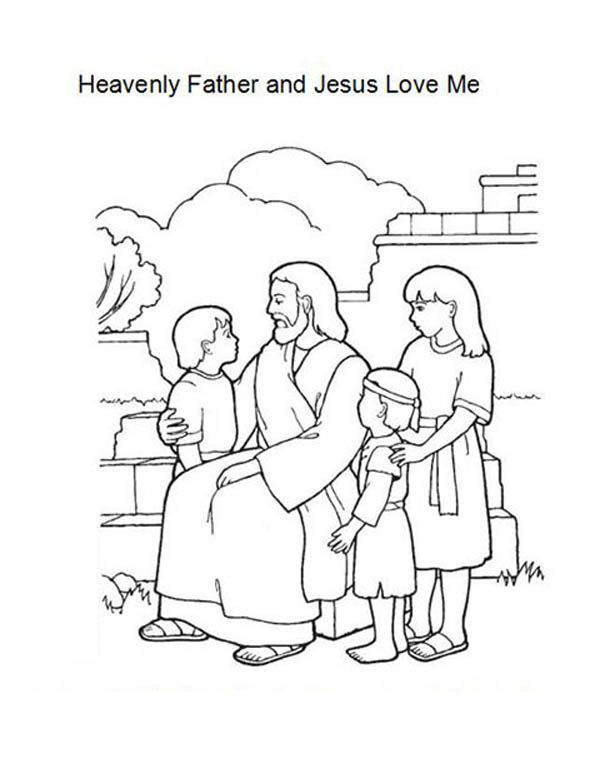 600x779 Jesus Love Coloring Pages