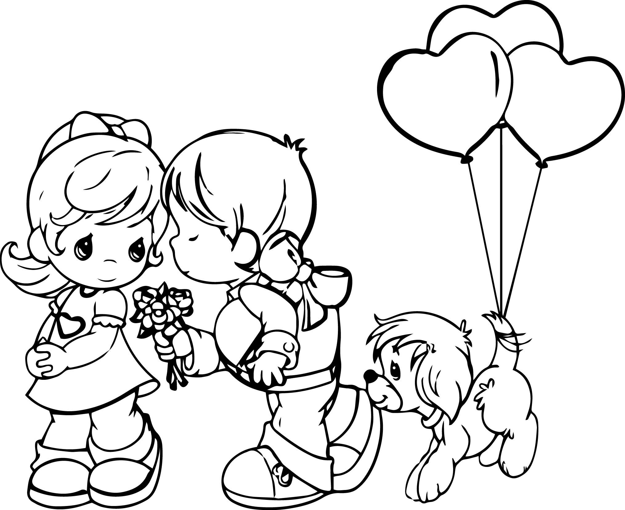 2029x1657 Sizable Precious Moment Coloring Pages Moments Page Love Is