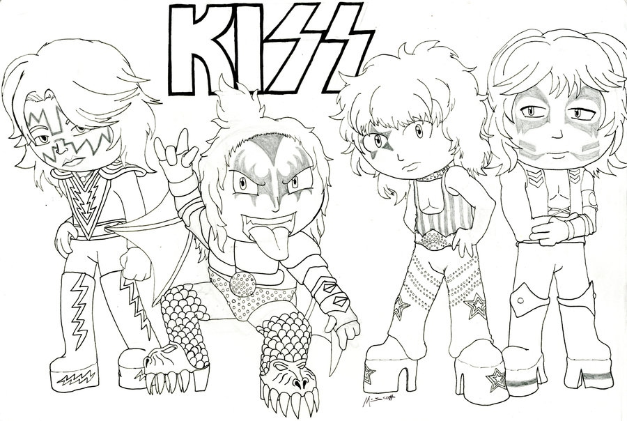900x604 Kiss Coloring Pages Lovely Image Gallery Kiss Band Coloring Logo