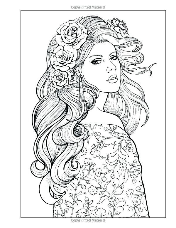 600x776 Coloring Pages Of People Free Coloring Adults Adult Coloring Pages