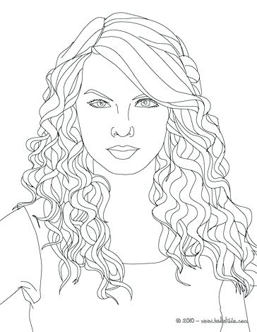 364x470 Coloring Pages Of People Swift Cats Eyes Coloring Page A People