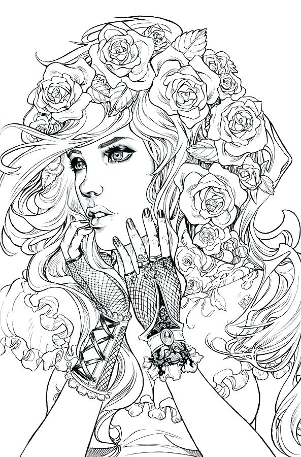593x900 Coloring Pages Of People Colouring Pages People Coloring Book
