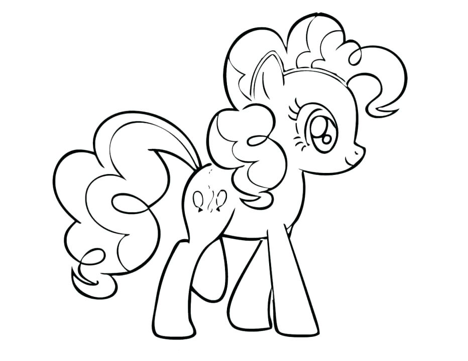 Coloring Pages Of Pinkie Pie
