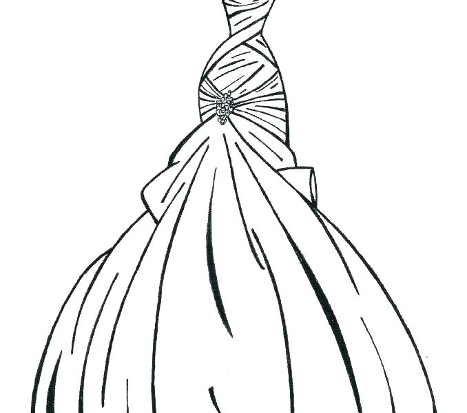 Coloring Pages Of Princess Dresses at GetDrawings.com | Free ...