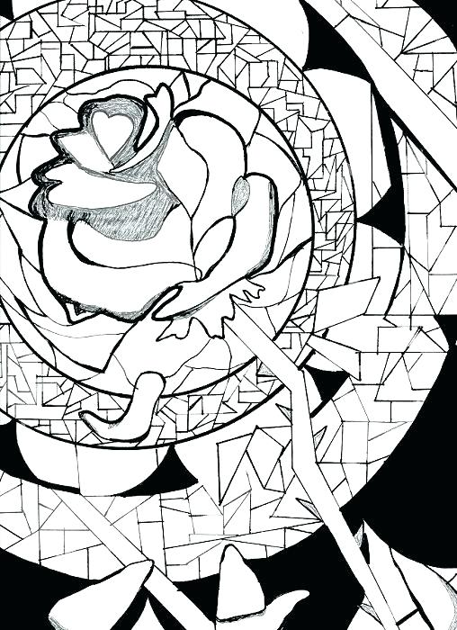 508x700 Marvellous Compass Rose Coloring Page Coloring Page Rose Beasts