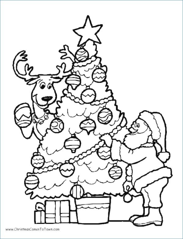 600x782 Santa Sleigh Ride Christmas Coloring Page