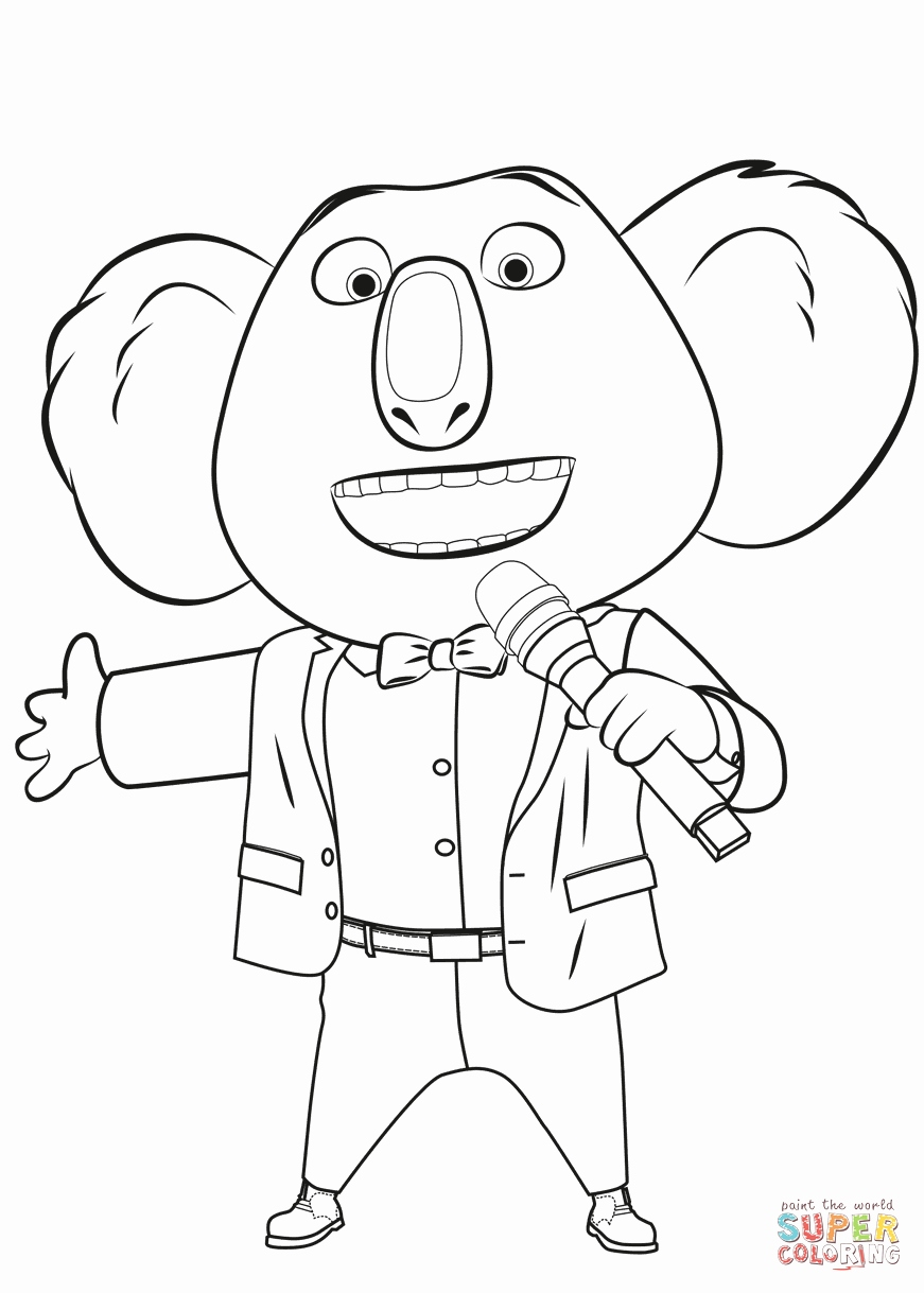 871x1219 My Singing Monsters Coloring Pages Awesome Buster Moon From Sing