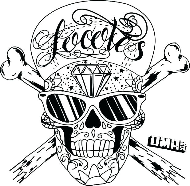 618x604 Coloring Pages Skulls Coloring Pages Of Skulls With Flames Flaming