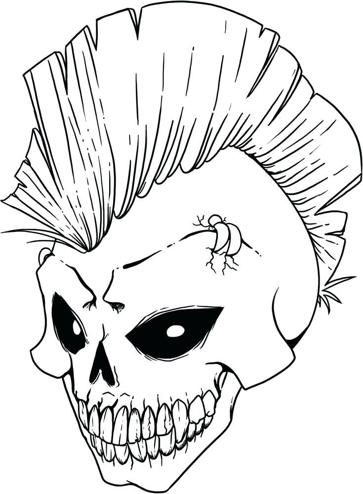 735x1000 Sugar Skull Tattoo Coloring Pages Skulls Coloring Pages Sugar