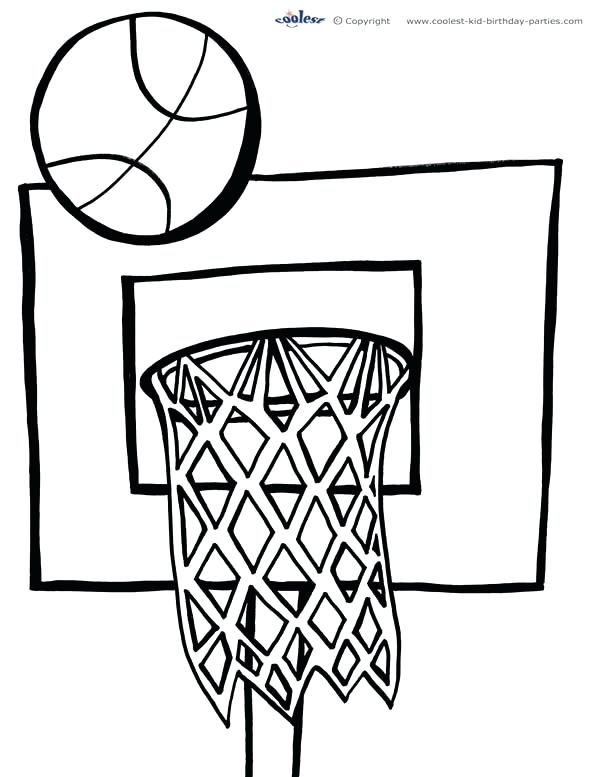 600x777 Basketball Coloring Page Heat Coloring Pages Heat Coloring Pages