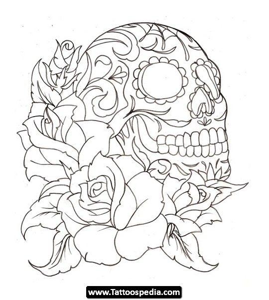 540x602 Skulls Tattoos For Men Skulls Tattoos For Men