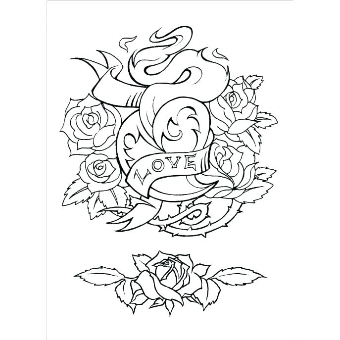 687x687 Tatoo Coloring Pages Tattoo Coloring Pages Tattoo Coloring Pages
